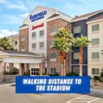 Accommodation near House of Blues Las Vegas - Fairfield Inn & Suites By Marriott Las Vegas South
