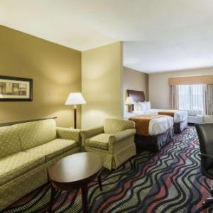 Hotels near Ford Park Beaumont - Comfort Suites Beaumont