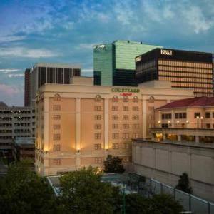 Attucks Theatre Hotels - Courtyard By Marriott Norfolk Downtown