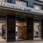 Accommodation near Portland State University: Lincoln Hall - Courtyard Portland City Center