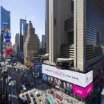 Accommodation near Lyric Theatre New York - New York Marriott Marquis