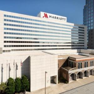 Hotels near UNCG Soccer Stadium - Greensboro Marriott Downtown