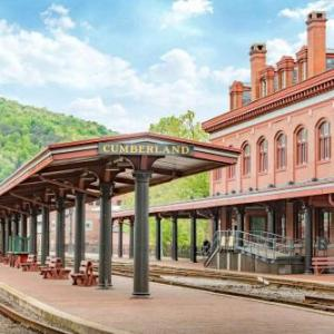 Hotels near Western Maryland Scenic Railroad - Ramada Cumberland Downtown