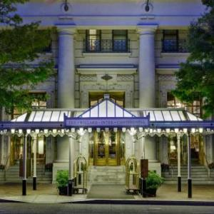 16th St and Constitution Ave NW Hotels - Willard Intercontinental