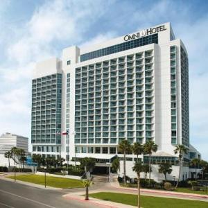 Hotels near Whataburger Field - Omni Corpus Christi Hotel Bayfront Tower