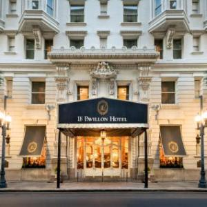 Hotels near Champions Square New Orleans - Le Pavillon Hotel