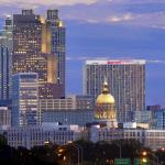Russ Chandler Stadium Hotels - Marriott Atlanta Marquis
