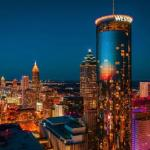 Accommodation near Russ Chandler Stadium - The Westin Peachtree Plaza