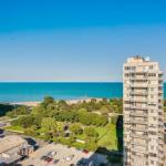 New! Panoramic Lake Michigan Views Uptown 2BR