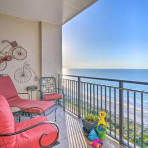 Oceanfront Resort Penthouse with Myrtle Beach Views