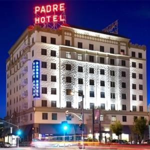 Hotels near Fox Theater Bakersfield - The Padre Hotel