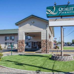 Hotels near Toppenish Rodeo Grounds - Quality Inn & Suites Toppenish - Yakima Valley