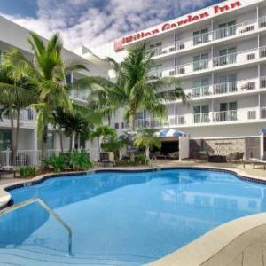 Virginia Key Beach Hotels - Hilton Garden Inn Miami Brickell South