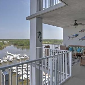 Orange Beach Resort Condo with Scenic Marina Views!