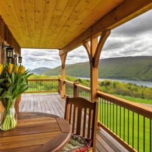 Naples Cabin w/Large Wraparound Deck & Lake Views!