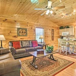Sevierville Resort Cabin with Hot Tub and Decks!