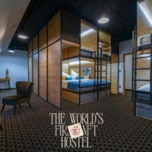 2020 Best EU Art Boutique Capsule Hostel CHORS