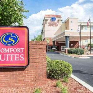 Winthrop Coliseum Hotels - Comfort Suites Rock Hill