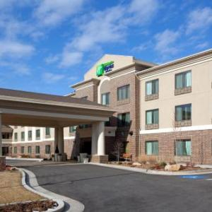 Hotels near Maverik Center - Holiday Inn Express Hotel And Suites