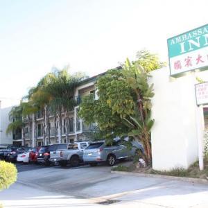 Hotels near Luckman Fine Arts Complex - Ambassador Inn Alhambra