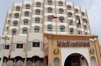Map of the of Sharjah Carlton Hotel Area Ash Shariqah United Arab