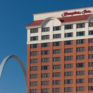 The Dome at America's Center Hotels - Hampton Inn St Louis At The Arch