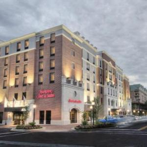 James G Pressly Stadium at Percy Beard Track Hotels - Hampton Inn & Suites Gainesville-downtown