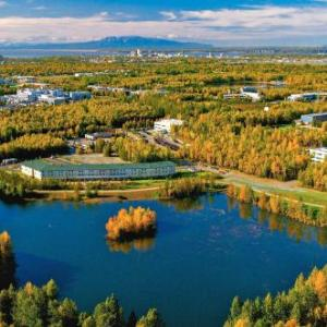 Hotels near Alaska Airlines Center - Springhill Suites By Marriott Anchorage University Lake