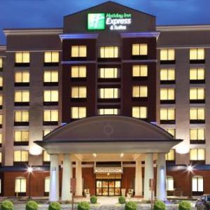 Thurber Theatre Hotels - Holiday Inn Express Hotel & Suites Columbus University Area- Ohi