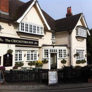 Hotels near Matterley Bowl Winchester - The Cricketers Inn