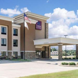 Leflore Civic Center Hotels - Comfort Suites Greenwood