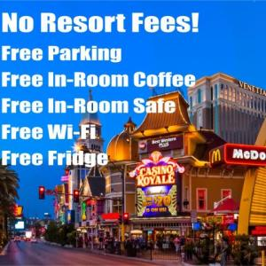 Harrah's Las Vegas Hotels - Best Western Plus Casino Royale