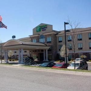 The Youngstown Foundation Amphitheatre Hotels - Holiday Inn Express & Suites Youngstown West I 80
