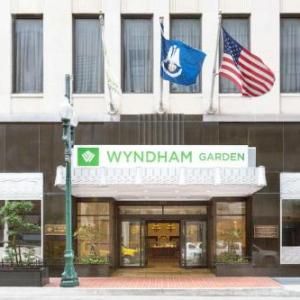 Hotels near Mercedes-Benz Superdome New Orleans - Wyndham Garden Hotel Baronne Plaza