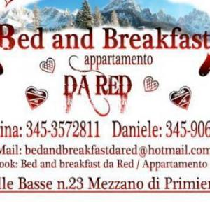 Book Now Bed and Breakfast da Red (Mezzano, Italy). Rooms Available for all budgets. Offering mountain views and located in Mezzano Bed and Breakfast da Red features free bicycles free WiFI and a shared kitchen.Rooms have access to a shared bathroom with a hai