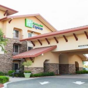 Hotels near Stanislaus State Amphitheater - Holiday Inn Express Turlock-Hwy 99