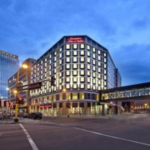 Hotels near Target Center - Hampton Inn & Suites Minneapolis/Downtown