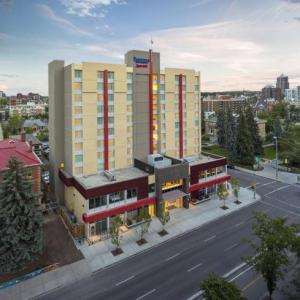 Hotels near Big Four Roadhouse - Fairfield Inn & Suites Calgary Downtown