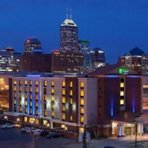 Bullseye Event Center Hotels - Holiday Inn Express Hotel & Suites Indianapolis Dtn-conv Ctr Area