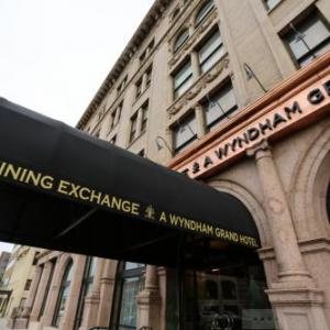 Hotels near Pikes Peak Center - The Mining Exchange A Wyndham Grand Hotel & Spa