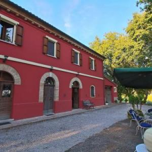 Book Now Lella (Serrungarina, Italy). Rooms Available for all budgets. Casa Lella is in the province of Pesaro Urbino. It forms part of a farmhouse complex in 40 hectares of grounds. The complex is in a beautiful hilly area near the Adriatic coas