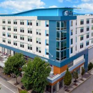 Hotels near McCormick Field - Aloft Asheville Downtown