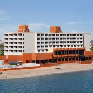 Hotels near Whataburger Field - Radisson Hotel Corpus Christi Beach