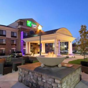 Hotels near Security Service Field - Holiday Inn Express and Suites-Colorado Springs-First and Main