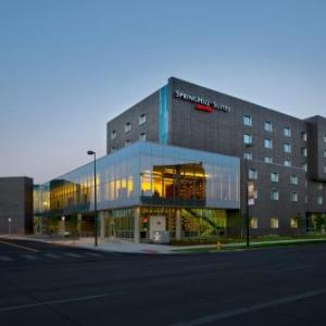 Pepsi Center Hotels Springhill Suites By Marriott Denver Downtown