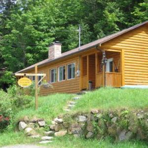 Cottages Du Lac Orford Cottage A CÔtÉ Raquettes Cottage B CÔtÉ Skis