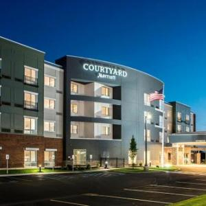 Upstate Concert Hall Clifton Park Hotels - Courtyard By Marriott Albany Clifton Park