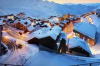 Map of the of Hotel KohI Nor Val Thorens Area SaintMartinDe