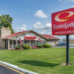 Bills Stadium Hotels - Econo Lodge Buffalo South