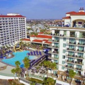 Huntington State Beach Hotels - The Waterfront Beach Resort A Hilton Hotel